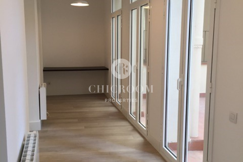 1 Bedroom apartment with terrace for rent in Gracia