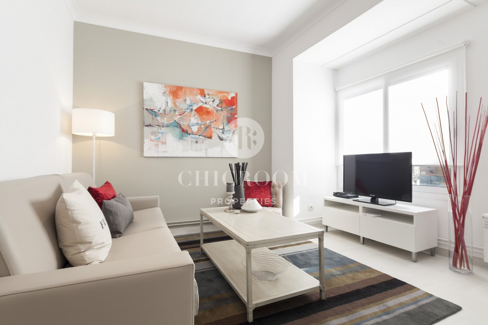 Furnished 2 bedrooms apartment for rent Sants-Montjuic