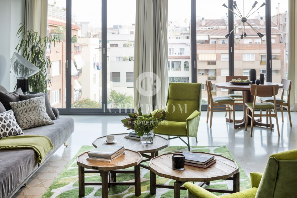 Furnished 3 bedroom apartment Sarria