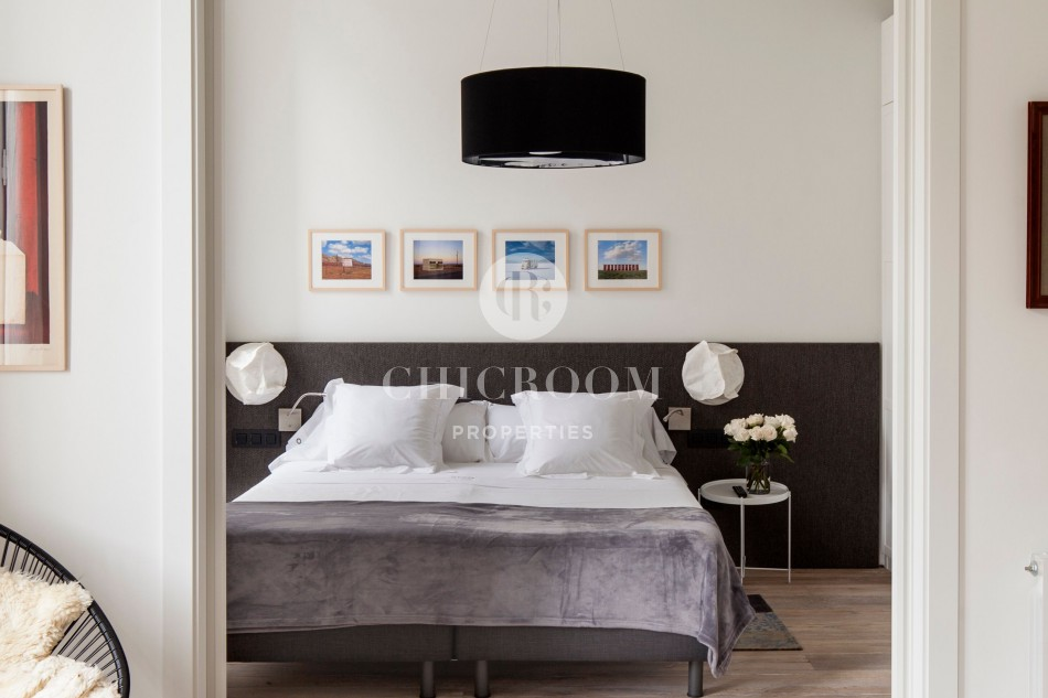 Furnished 2 bedroom rental wifi Eixample