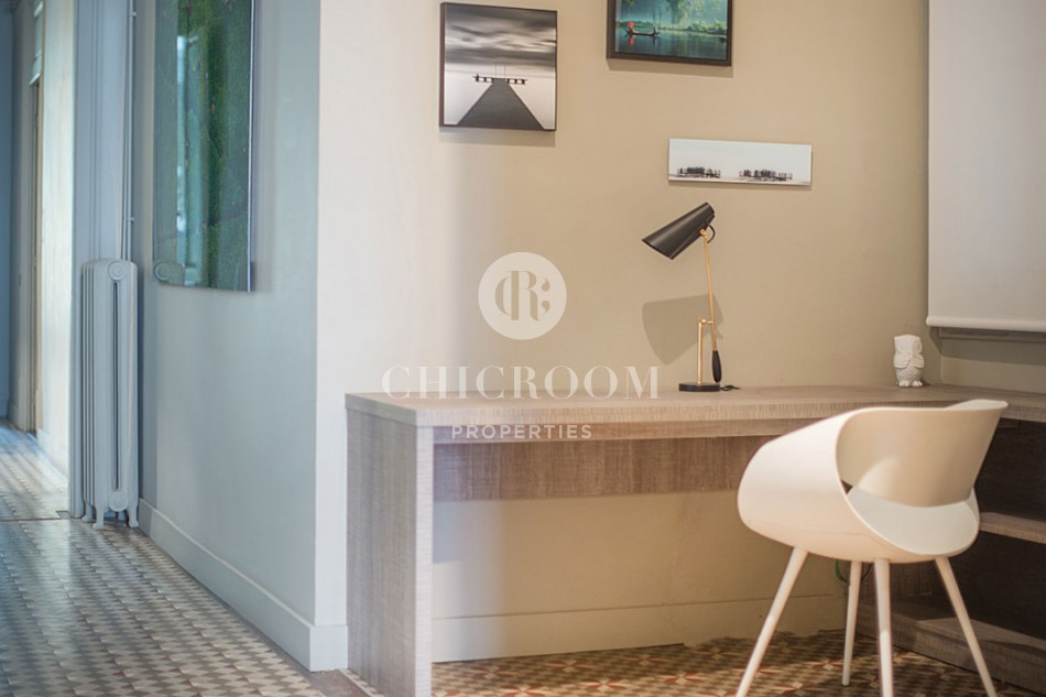 Furnished 3 bedroom for rent wifi Eixample
