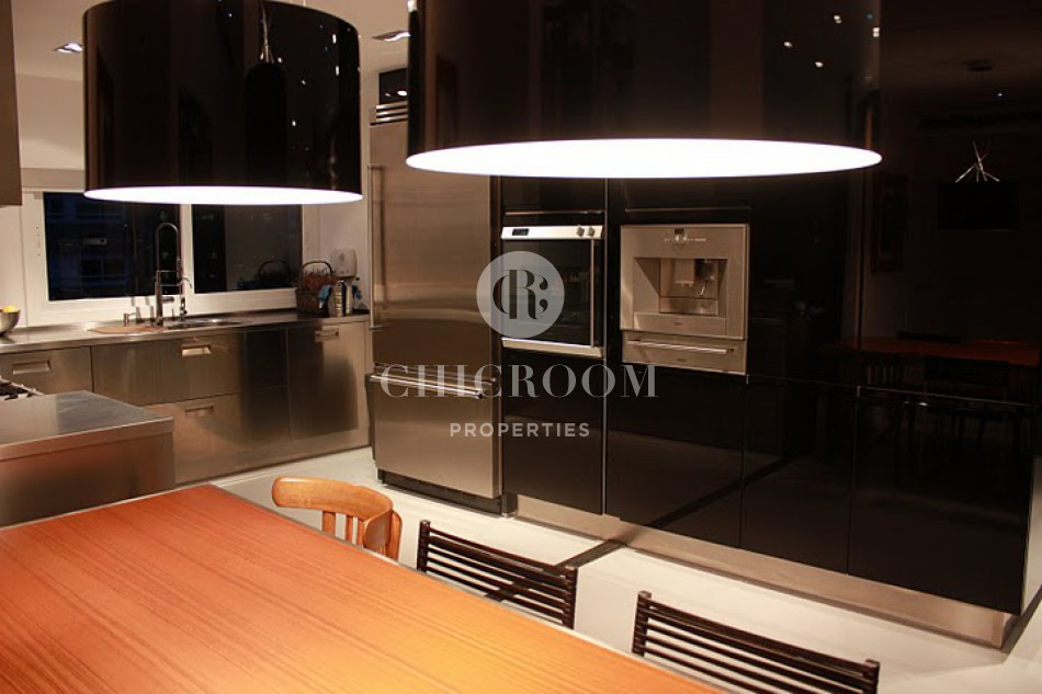 Penthouse for rent Barcelona les Corts