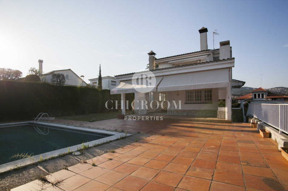 House for sale Alella swimming pool