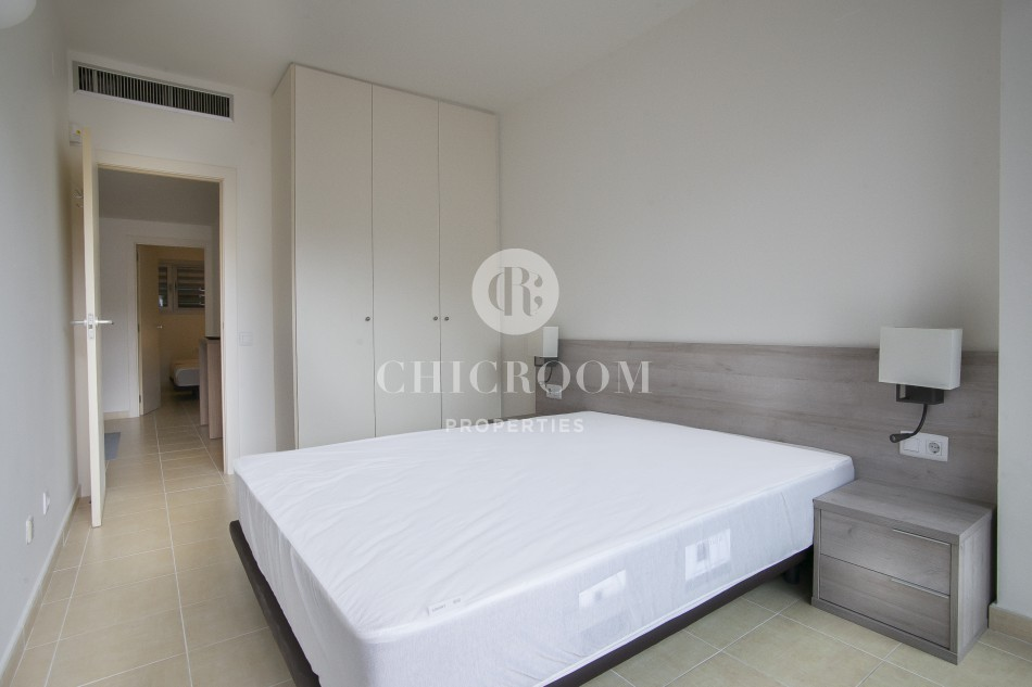 Furnished apartment for rent pool Barcelona Eixample