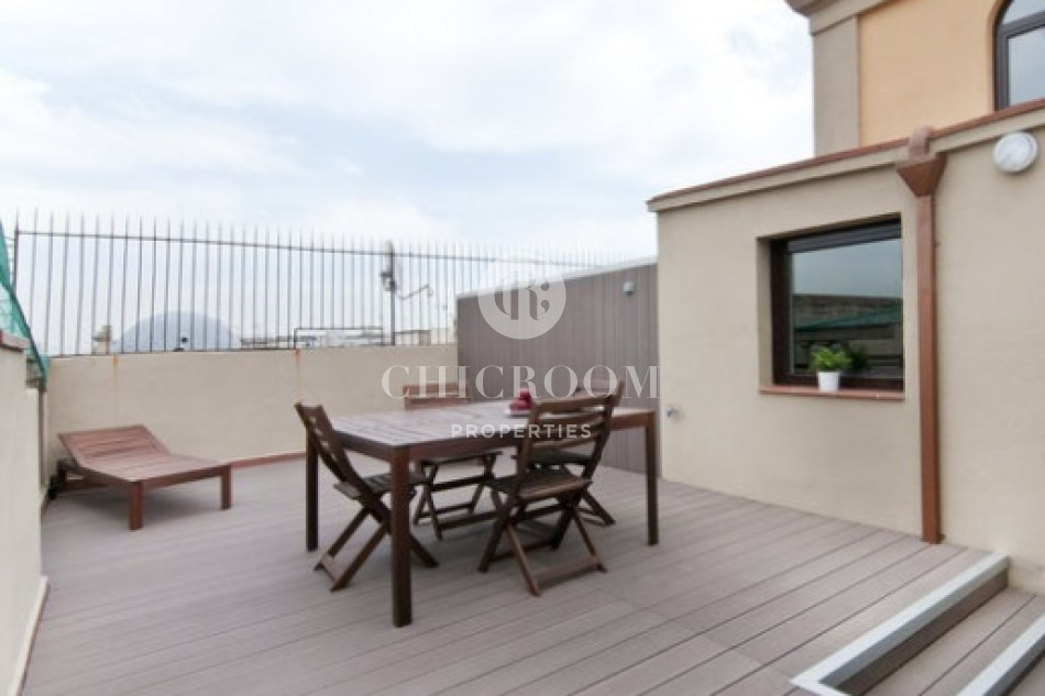 Furnished Penthouse for rent El Born Wifi