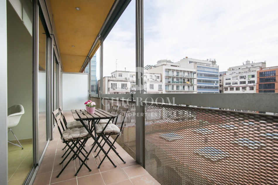 1 bedroom for rent Eixample pool