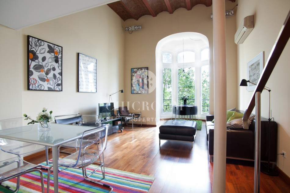 Furnished 2 bedroom apartment for rent near Placa de Catalunya