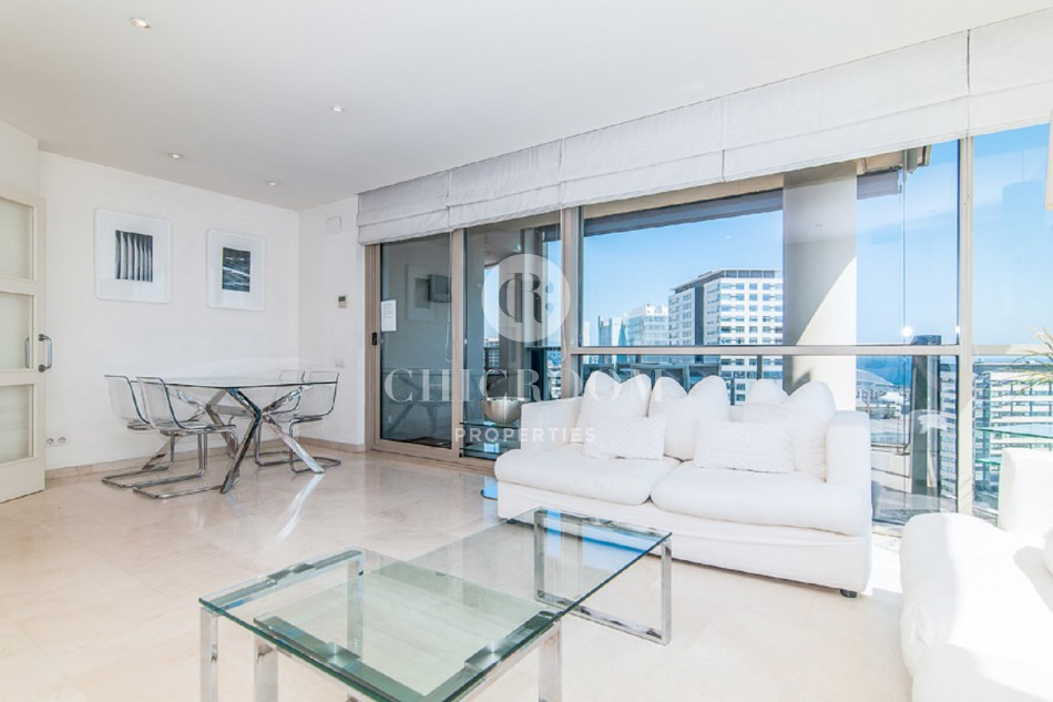 furnished 3 bedroom apartment for rent in diagonal mar