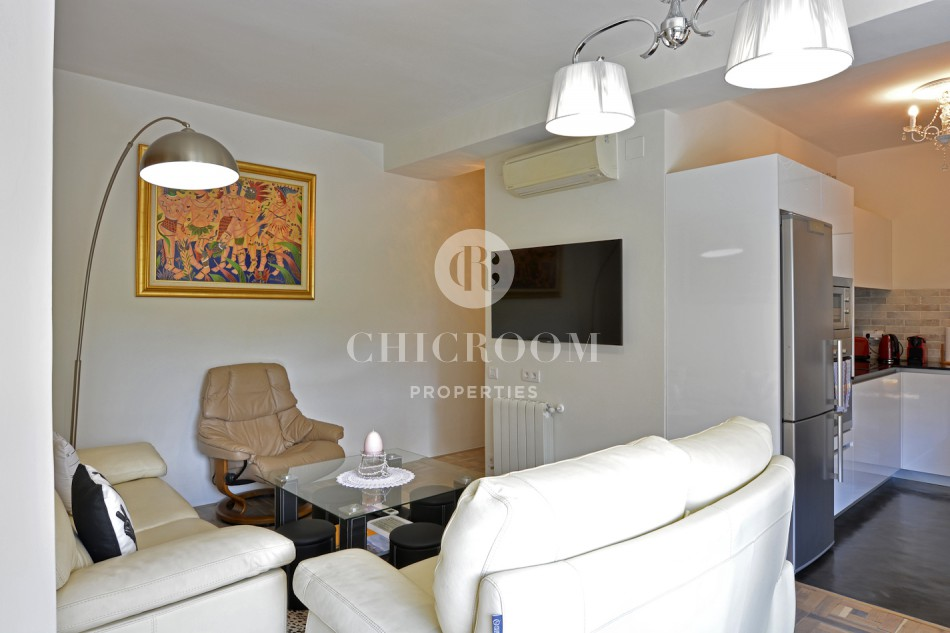 Furnished 4 bedroom apartment for rent Eixample