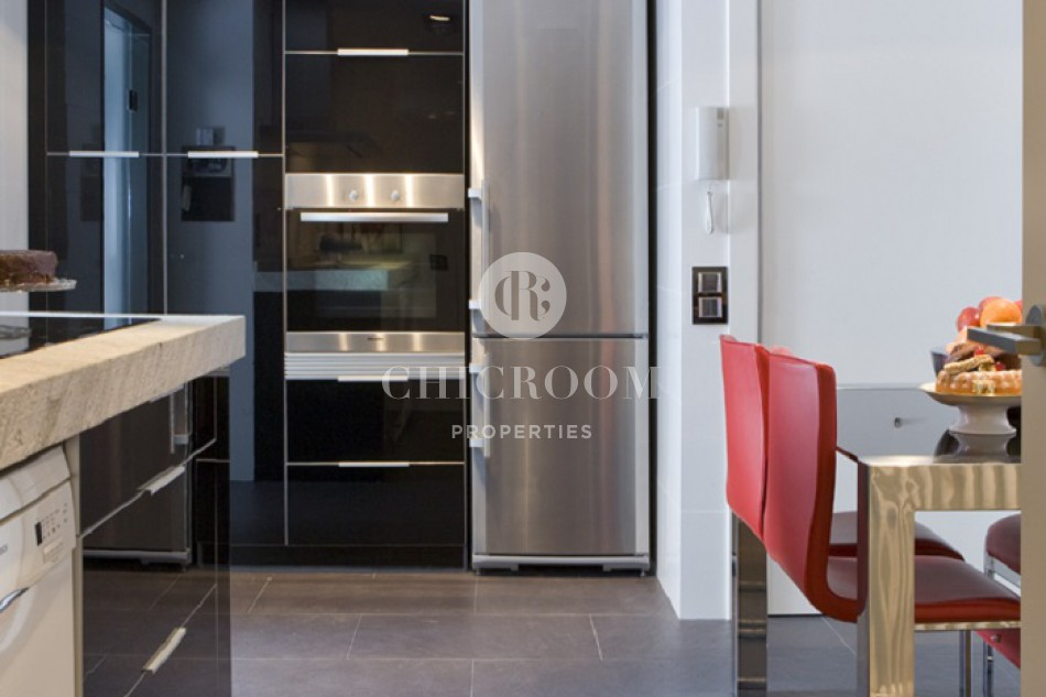 Furnished 3 bedroom apartment for rent Les Corts