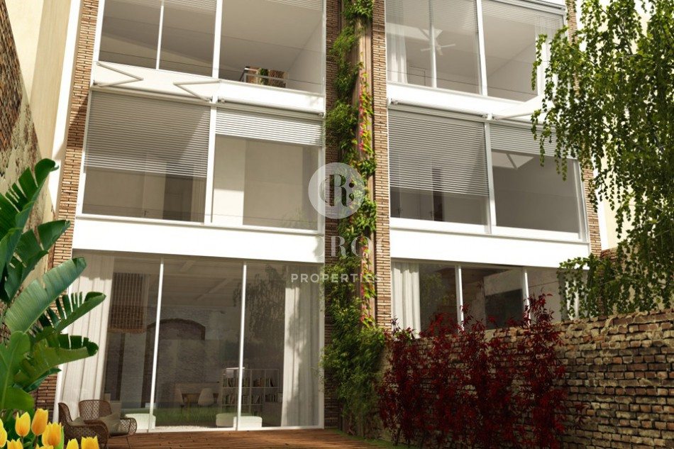 House for sale Les Corts pool