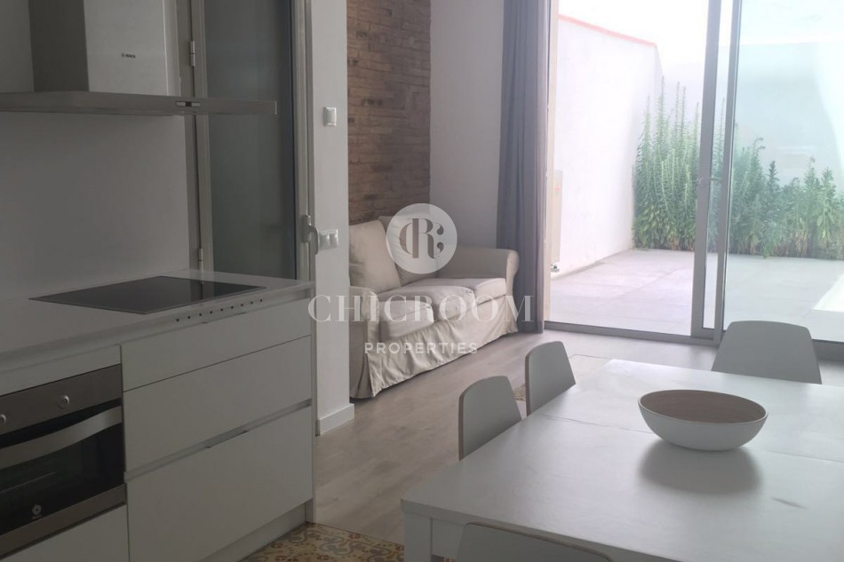 Furnished 3 bedroom flat to let Eixample