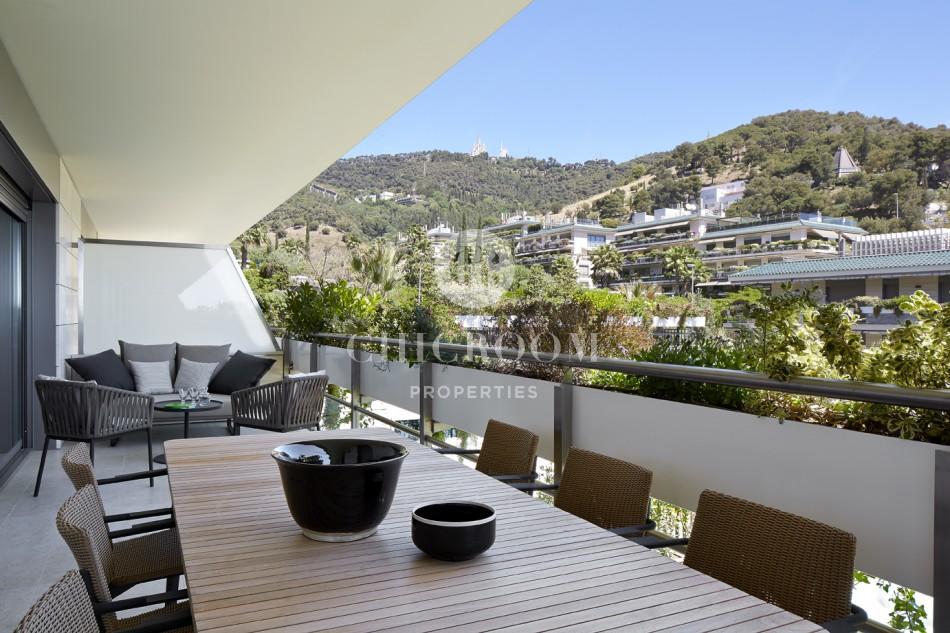 Furnished apartment for rent terrace Sant Gervasi