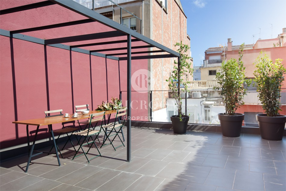 Penthouse for rent Sarria