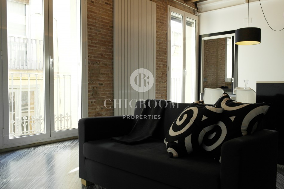 Furnished duplex terrace Gothic