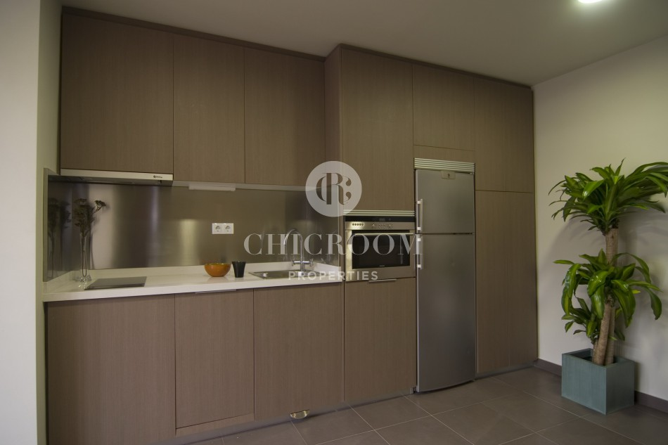 Unfurnished 1 bedroom apartment for rent Eixample