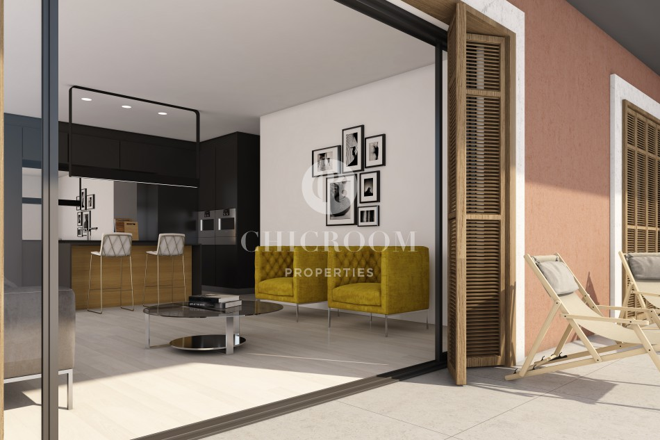 Apartments for sale New development Poble Sec Barcelona