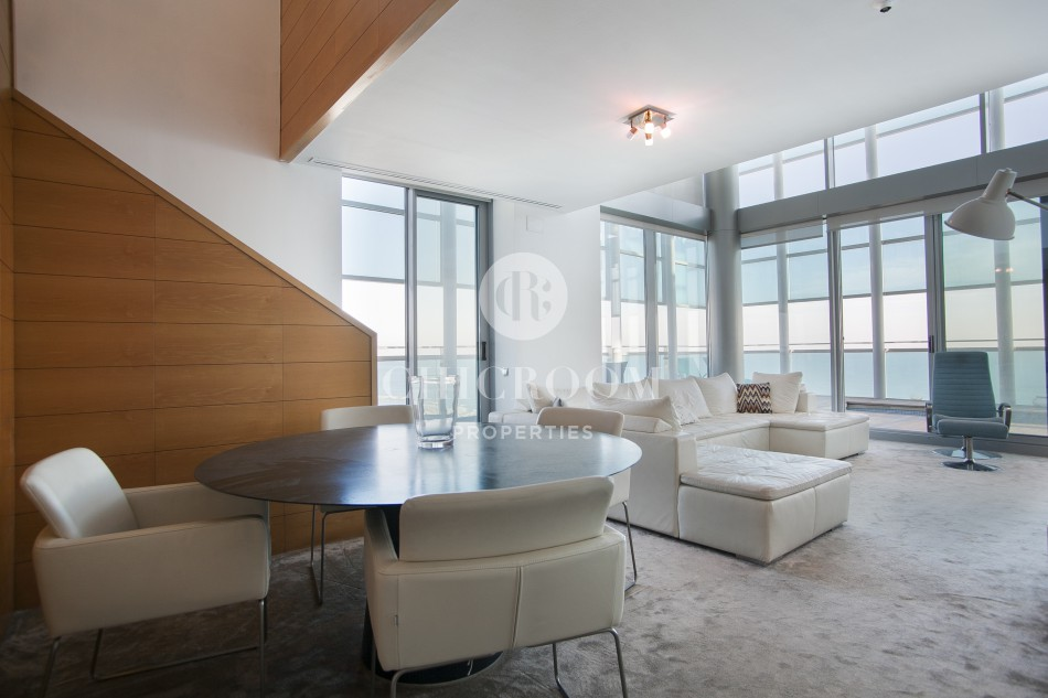 furnished penthouse duplex for rent diagonal mar