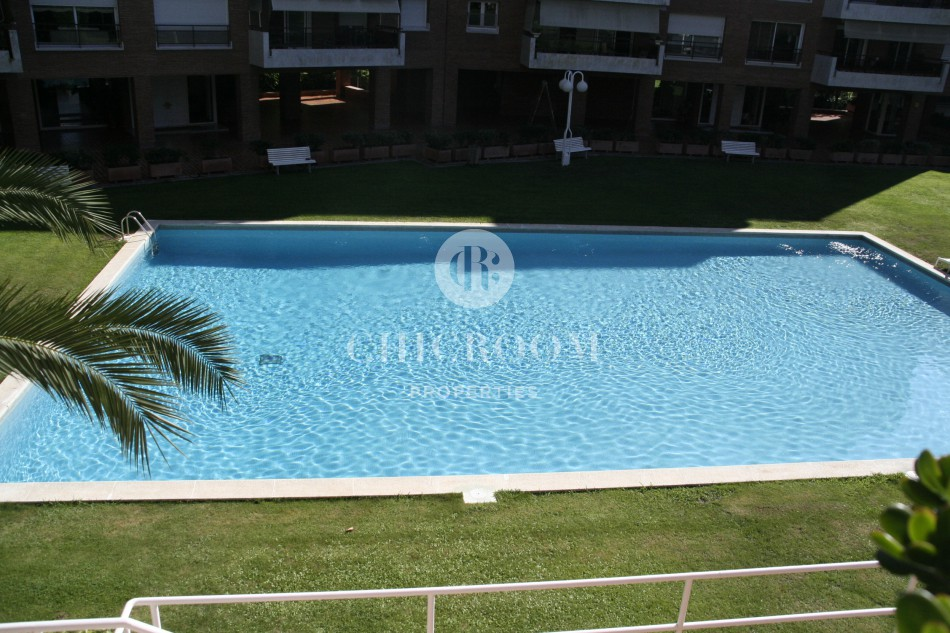 furnished 2 bedroom for rent Pedralbes