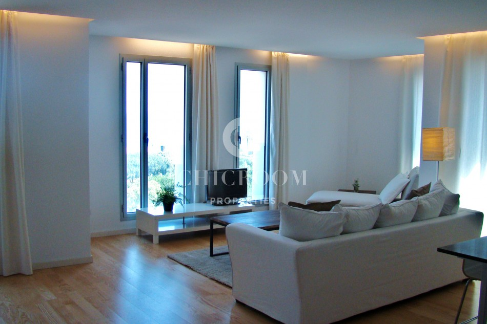 2 bedroom apartment for rent sea view Poblenou