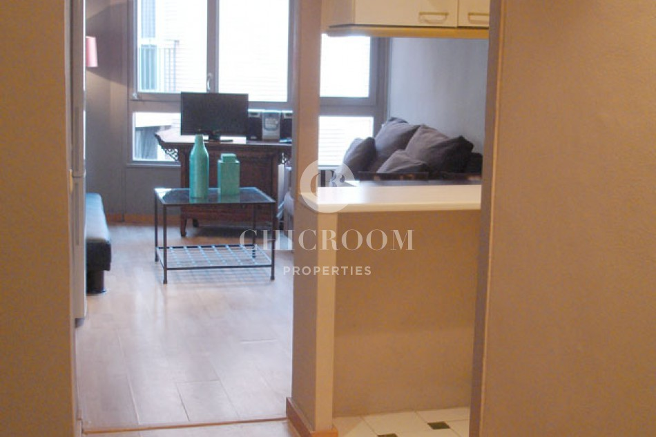 Furnished 2 bedroom for rent Sant Gervasi