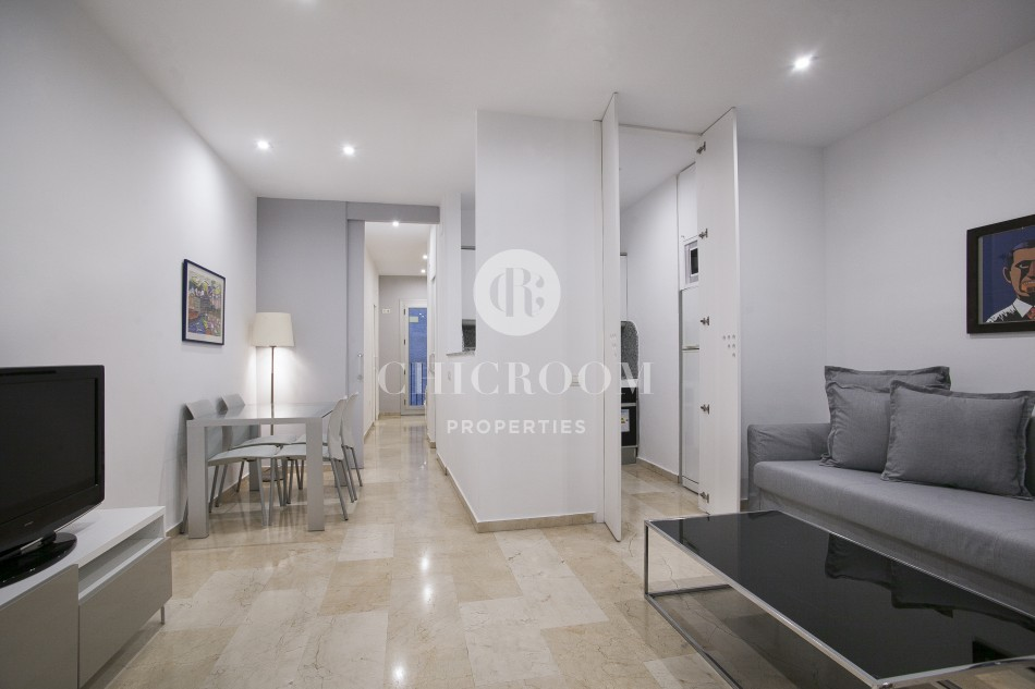 Furnished Luxury Apartment For Rent In El Born Barcelona