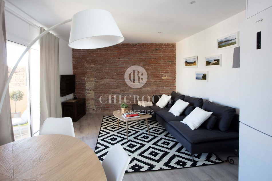 furnished penthouse for rent Sarria