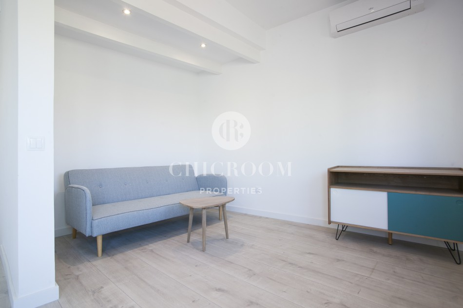 Penthouse with Terrace for rent on Rambla Barcelona