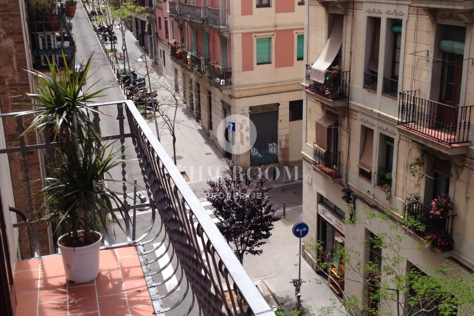 Furnished 2 bedroom apartment Poble Sec balcony