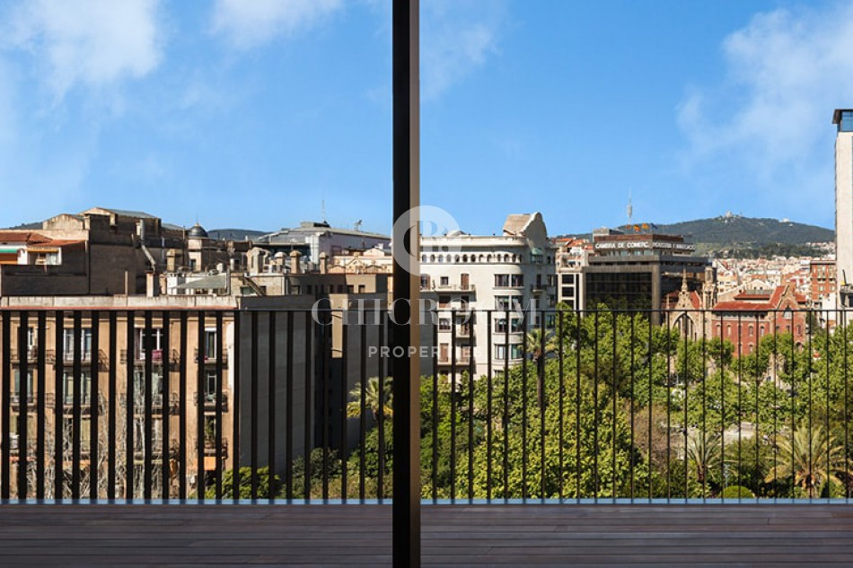Luxury mid term penthouse for rent in paseo de gracia Barcelona
