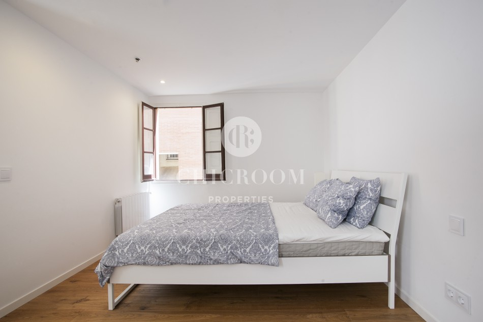 Furnished 2 bedroom flat for rent in Poble Nou