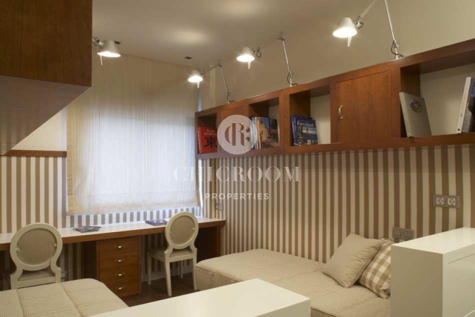 3 Bedroom apartment for rent Sant Gervasi with pool