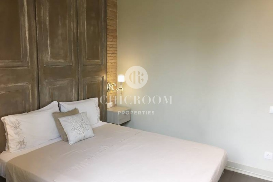 Furnished 2 bedroom apartment for rent Las Ramblas Barcelona