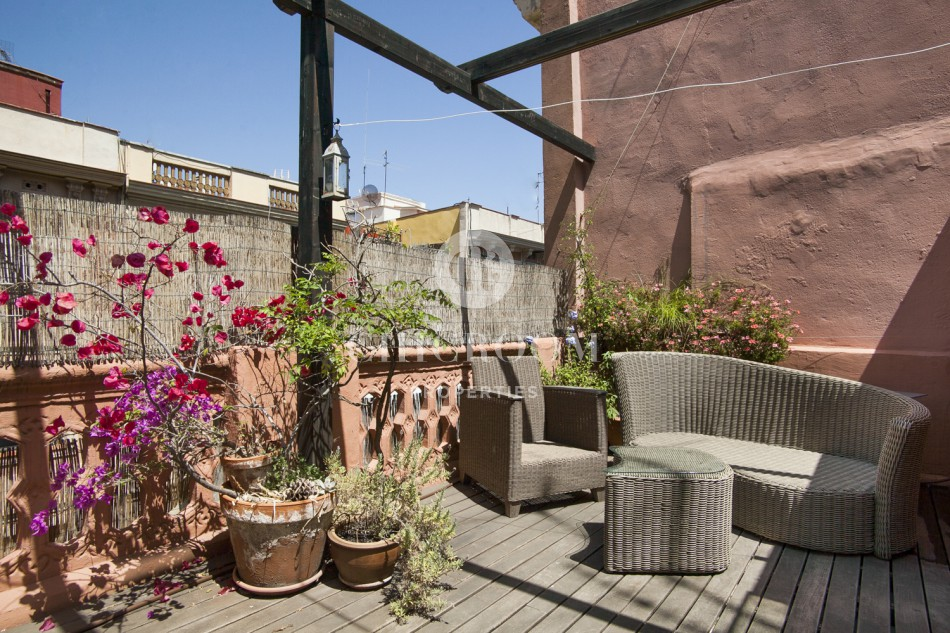 penthouse for rent poble sec barcelona