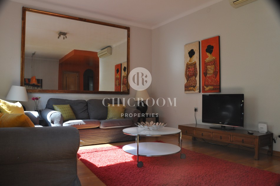 Furnished 3 bedroom apartment for rent in Paseo de Gracia Barcelona