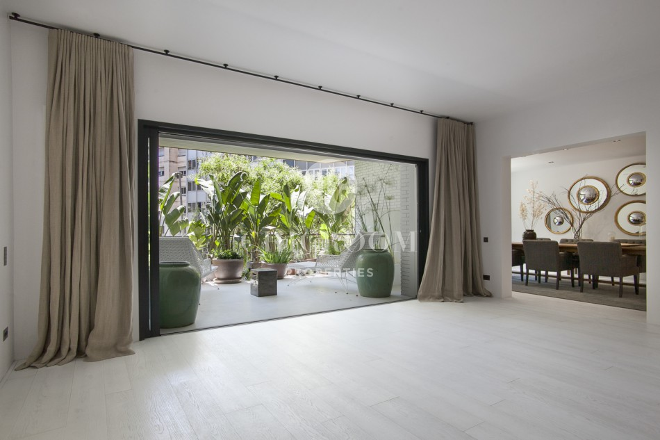 luxury 6 bedroom apartment for sale in turo parc barcelona