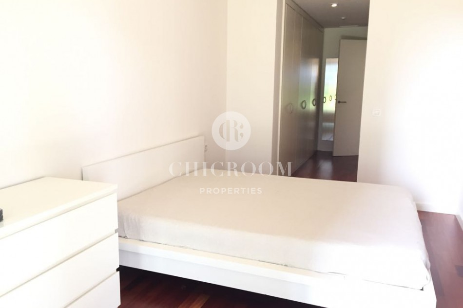 Furnished 3 bedroom apartment for rent with terrace Diagonal Mar