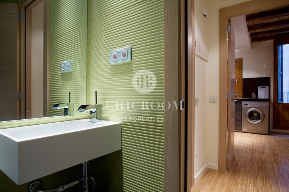 Furnished 1 bedroom apartment for sale Barcelona Ciutat Vella