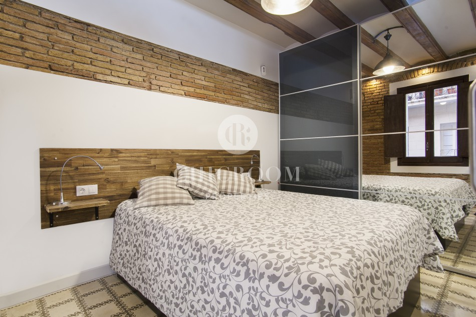 1 bedroom furnished apartment for rent with wifi in Barceloneta