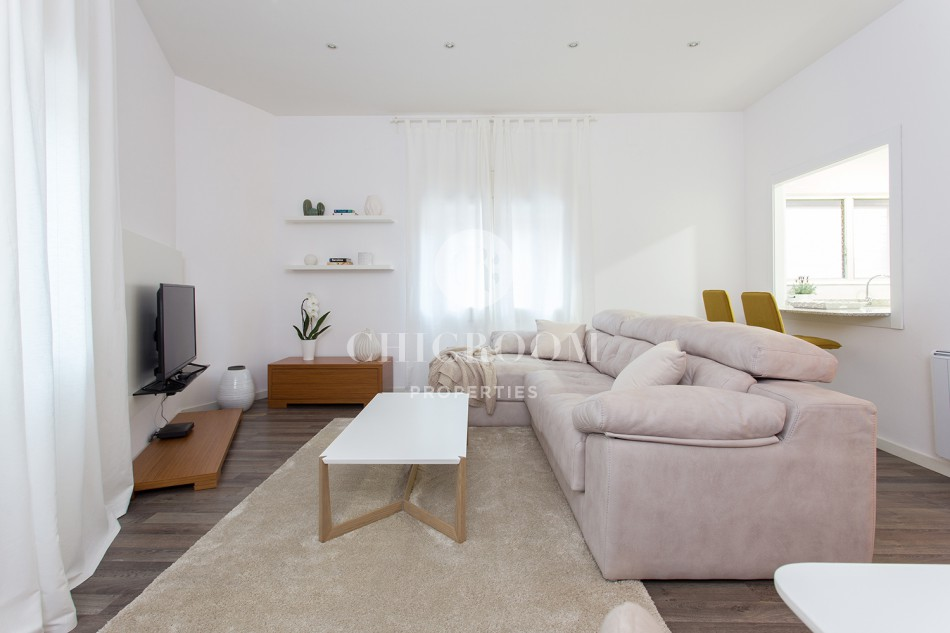 Furnished 1 bedroom apartment to let sant gervasi barcelona for 1 bedroom apartment barcelona