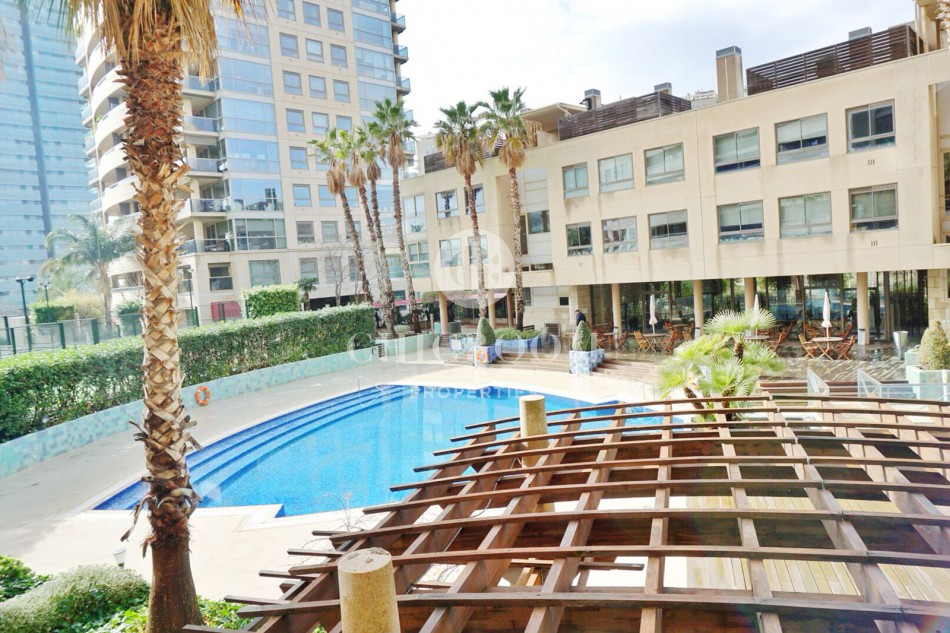 Furnished 2-bedroom flat for rent in Diagonal Mar Barcelona