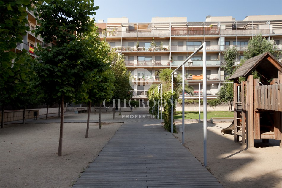 3-bedroom apartment for rent with pool in Poblenou Barcelona