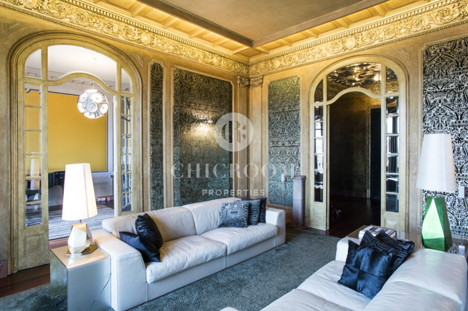 Majestic furnished apartment for rent in Paseo Colon in Barcelona