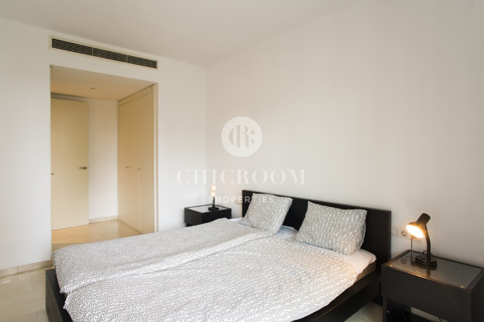 2 bedroom flat for rent in diagonal mar in barcelona