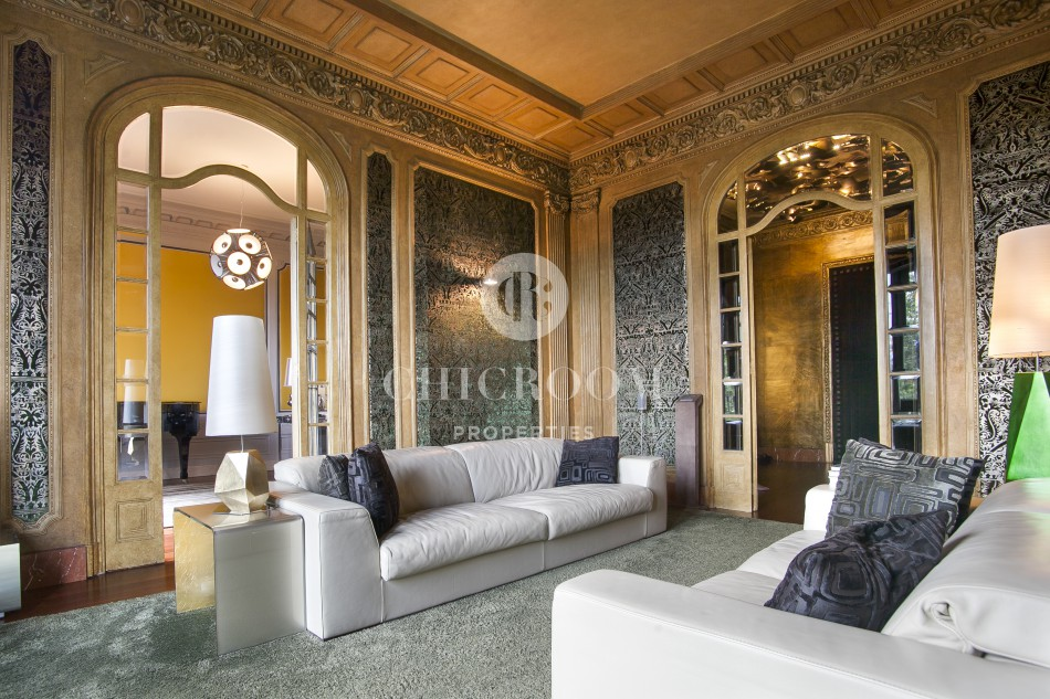 Majestic furnished flat to rent in Barcelona Gothic Quarter
