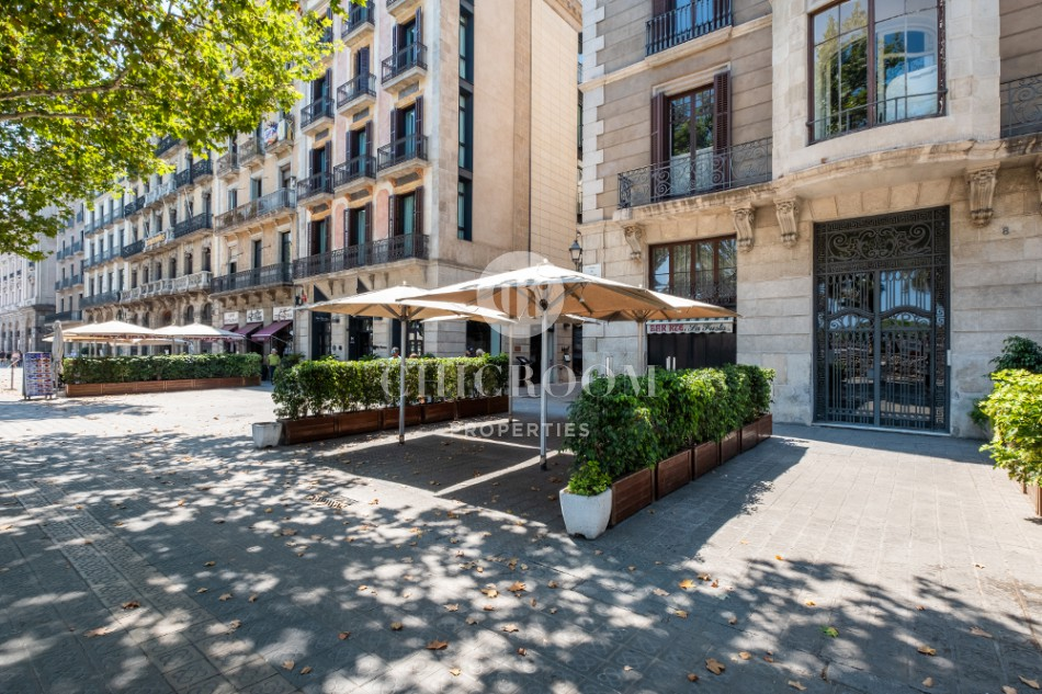 2-bedroom apartment for rent opposite Barcelona Harbour