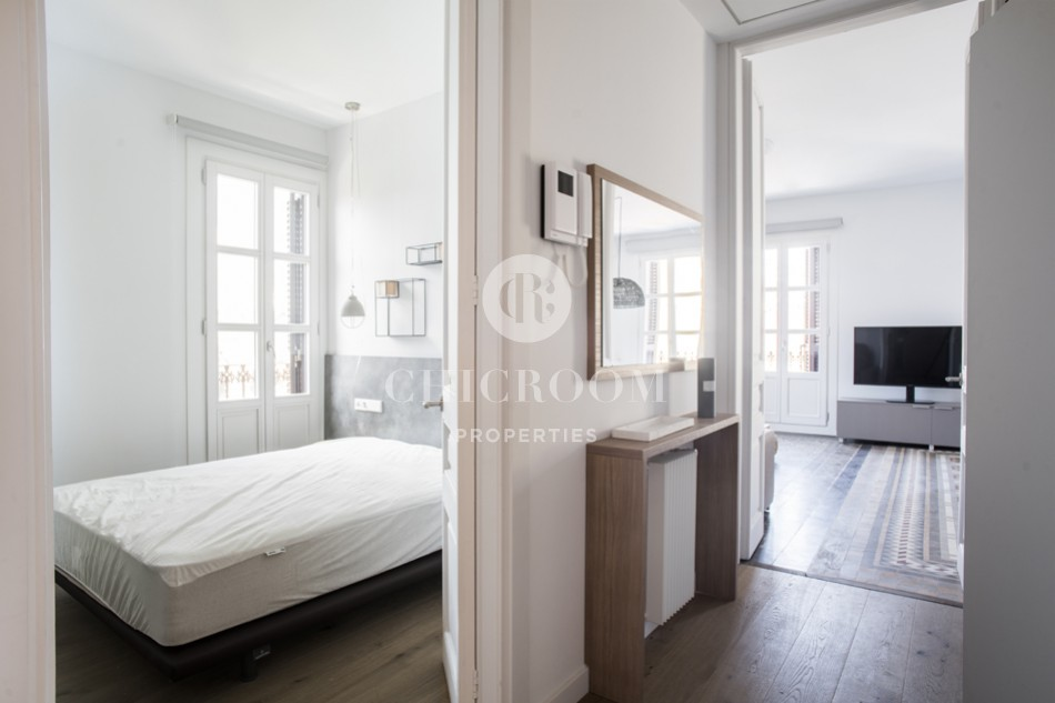 2-bedroom flat for rent in Barcelona centre