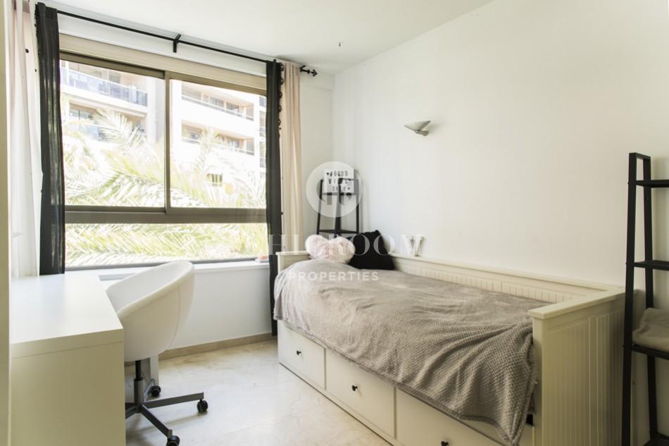 3-bedroom apartment for rent Diagonal Mar Barcelona