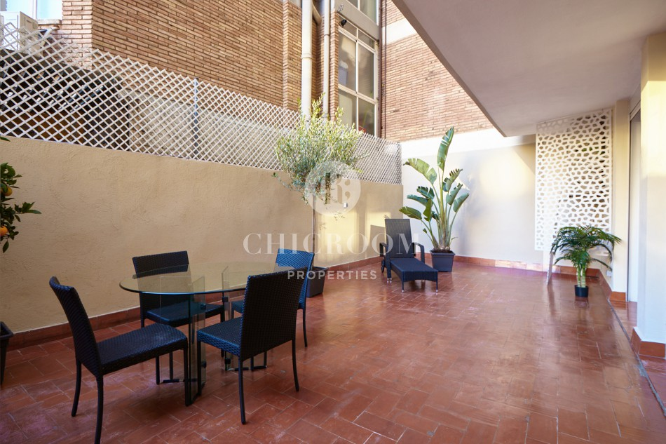 3-bedroom apartment for rent in Les Corts in Barcelona