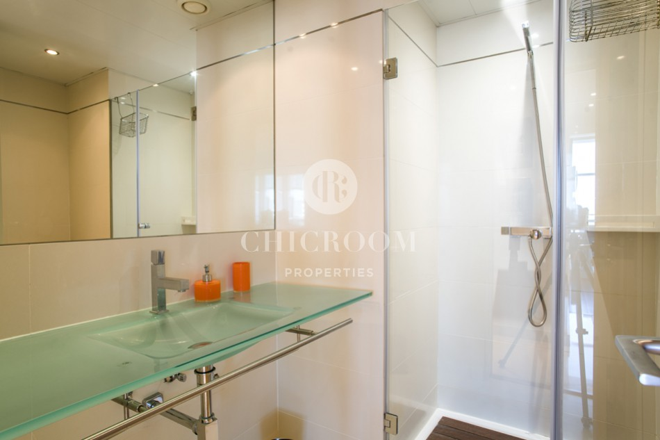 3-bedroom flat for rent with sea views Diagonal Mar Barcelona